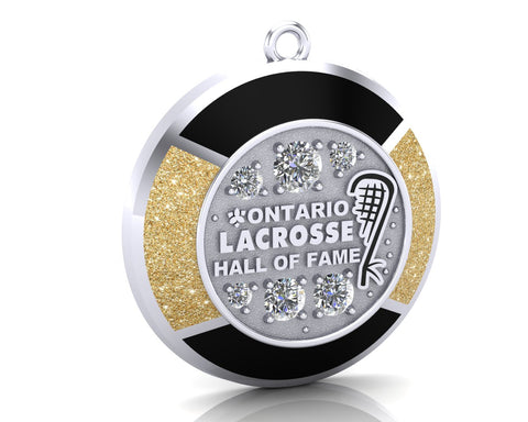 Ontario Lacrosse Hall of Fame Pendant