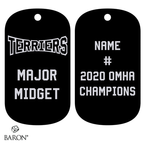Orillia Terriers Championship Dog Tag