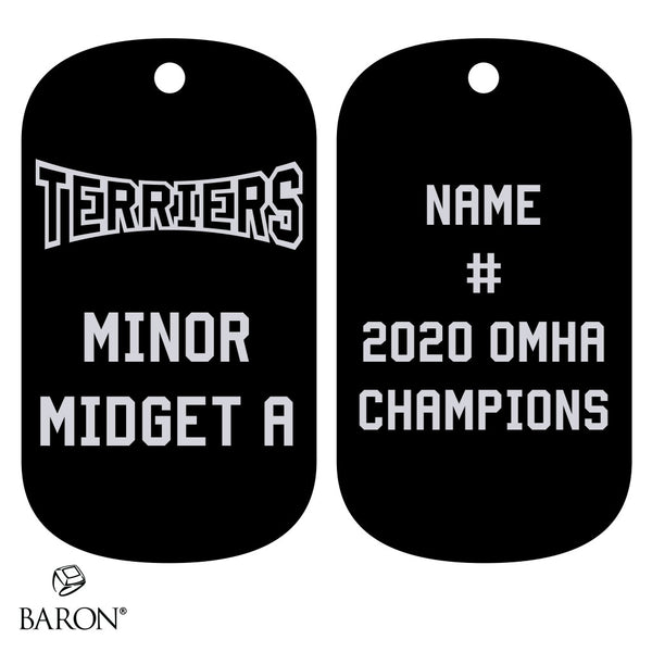 Orillia Minor Midget A - OMHA Dog Tags