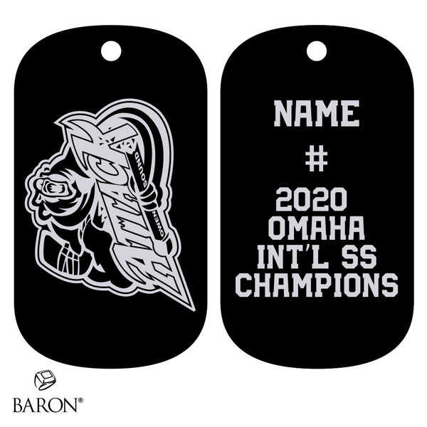 Owen Sound Jr Attack Dog Tags