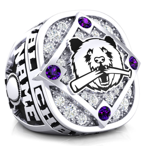 Panda Softball Championship Ring - Design 1.5