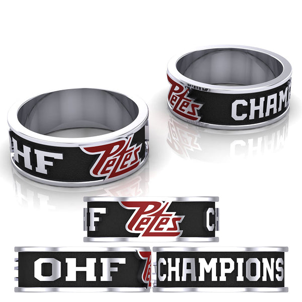 Peterborough Petes - Atom AA Ring - Design 2