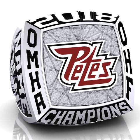 Peterborough Petes - Atom AA Ring - Design 3.1