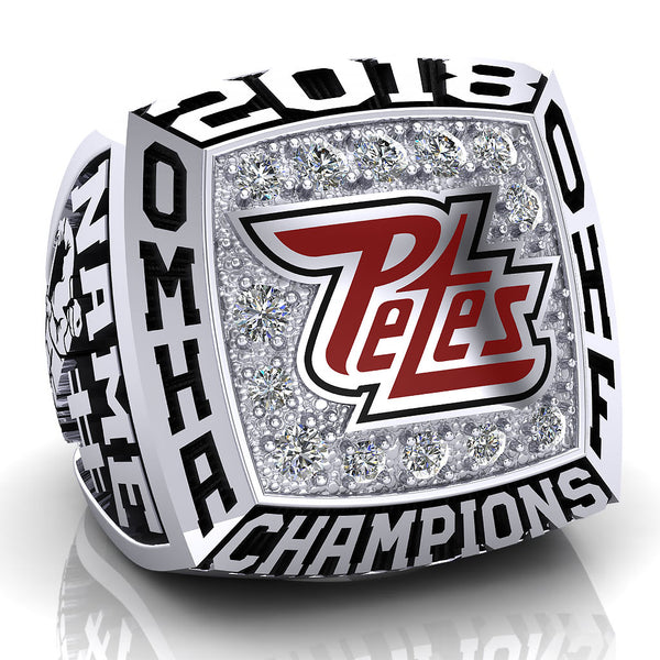 Peterborough Petes - Atom AA Ring - Design 3.2