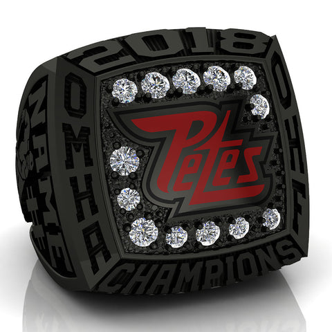 Peterborough Petes - Atom AA Ring - Design 3.4