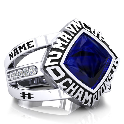 Peterborough Lakers - Mann Cup - CLA Ring - Design 4.1
