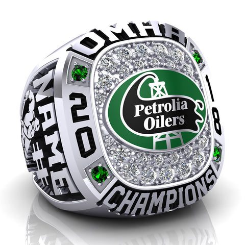 Petrolia Oilers Ring