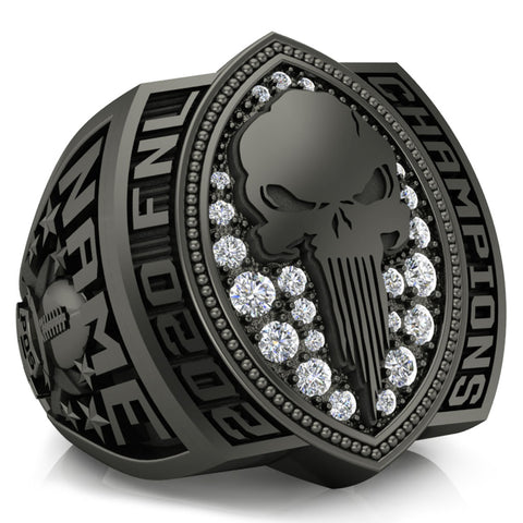 Punishers Football Championship Ring - Design 3.1