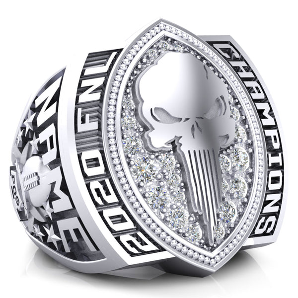 Punishers Football Championship Ring - Design 3.2