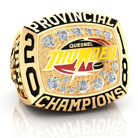 Quesnel Thunder Ring - Design 1