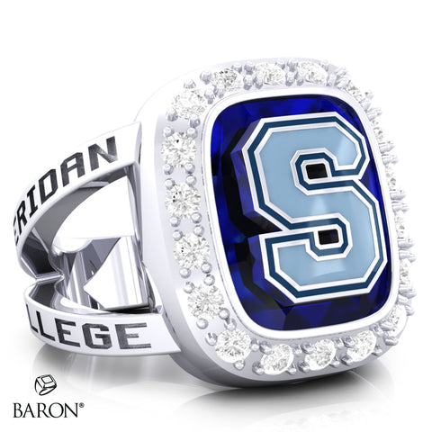 Sheridan College Renown Class Ring (Durlium, Sterling Silver, 10kt White Gold) - Design 5.1