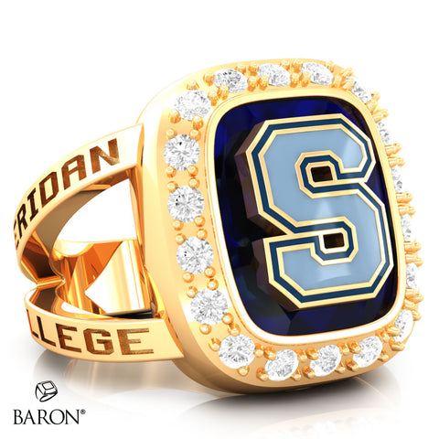 Sheridan College Renown Class Ring (Gold Durilium, 10kt Yellow Gold) - Design 5.2