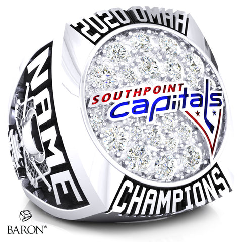 Southpoint Capitals Championship Ring - Design 1.2