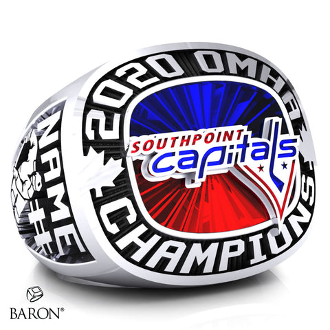 Southpoint Capitals Championship Ring - Design 2.2