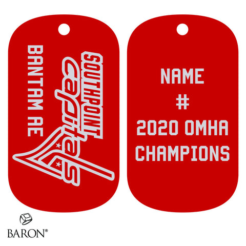 Southpoint Capitals Dog Tags