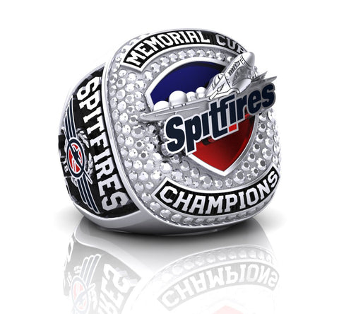 Windsor Spitfires 2017 Memorial Cup $99 Ring