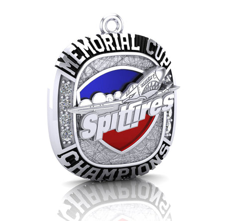 Windsor Spitfires 2017 Memorial Cup Pendant