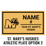 St. Marys Huskies Class Ring Box