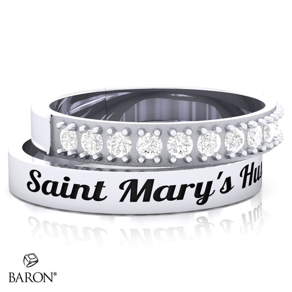St. Marys Huskies Stackable Class Ring Set - 3151