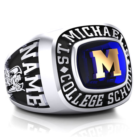 St. Michael's College School - Classic Style Ring (Pinned)