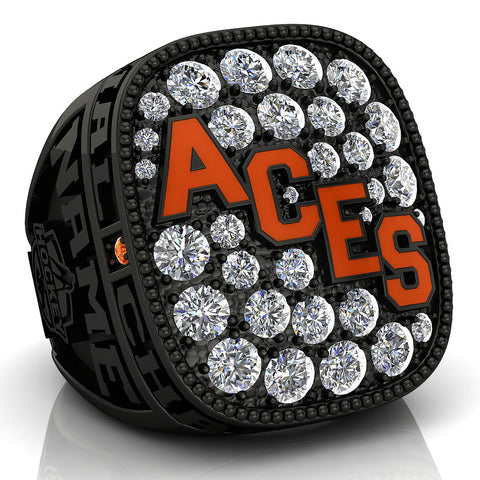 Ste. Anne Aces Ring - Design 3.2