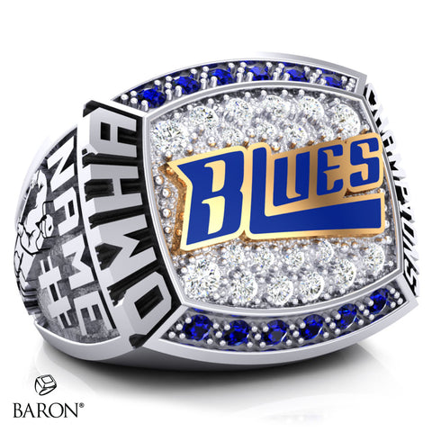 Stirling Blues Championship Ring - Design 2.1