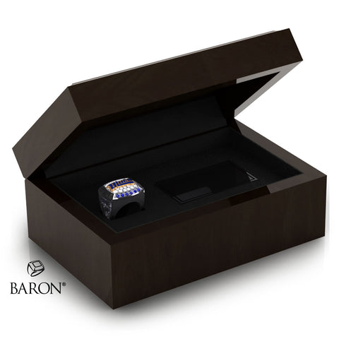 Stirling Blues Championship Ring Box