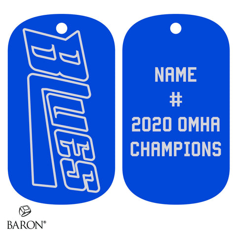 Stirling Blues Dog Tags
