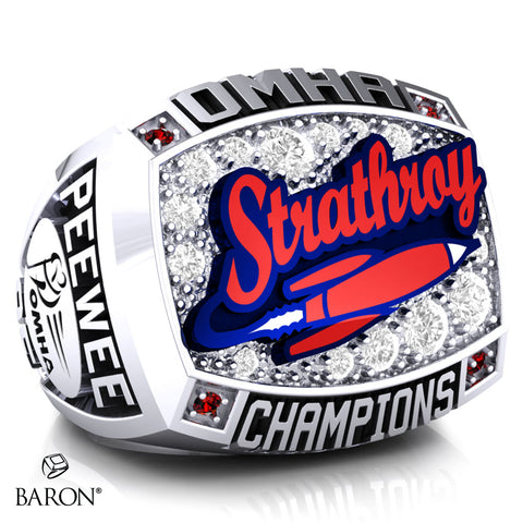 Strathroy Peewee AE Championship Ring - Design 2.3