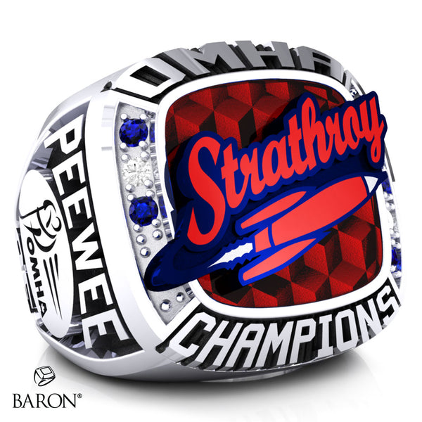 Strathroy Peewee AE Championship Ring - Design 3.2