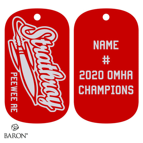 Strathroy Rockets Dog Tags