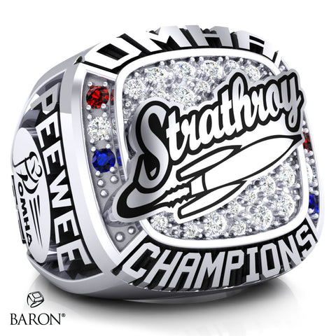 Strathroy Rockets Championship Ring - Design 1.6