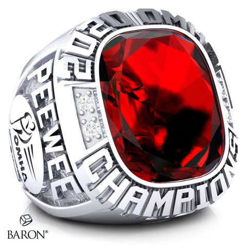 Sturgeon Lake Thunder- Peewee C Championship Ring - Design 2.2