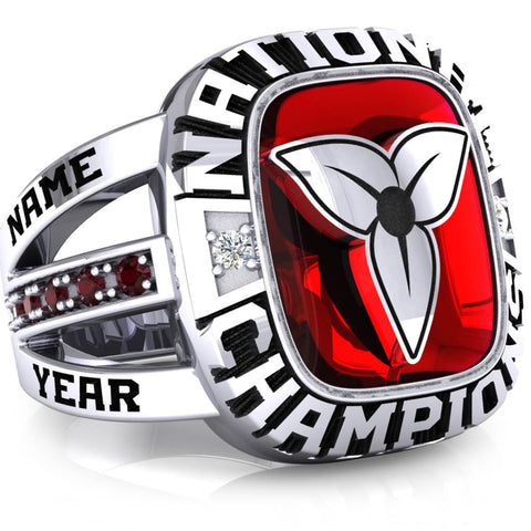 Team Ontario Lacrosse National Champions Renown Ring - Design 1.2