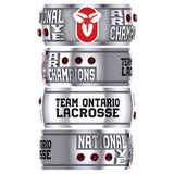 Team Ontario Lacrosse National Champions Stagger band - Design 2.1
