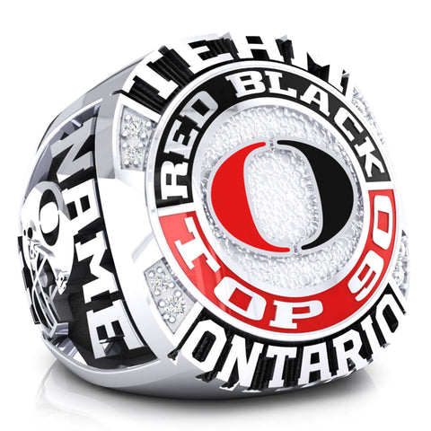 OFA - Team Ontario Football Red vs Black Ring - Design 1.1 (Top 90)