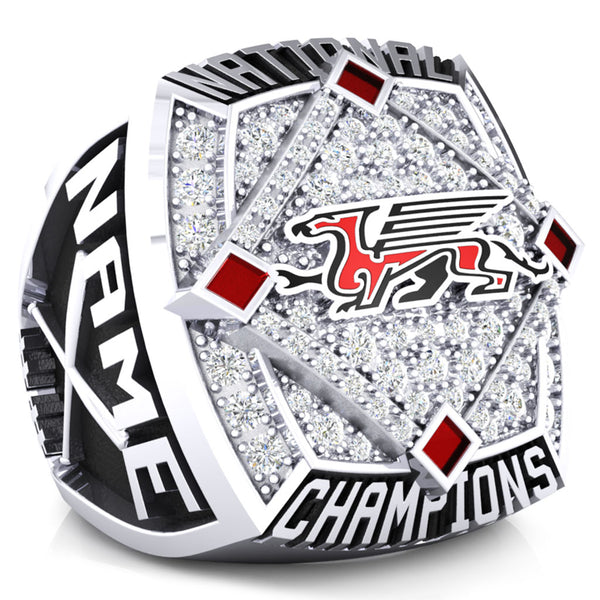 The University of Guelph Championship Ring - Design 1.5