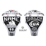 University of Guelph - Hockey  Championship Ring - Design 1.7