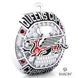 University of Guelph - Hockey  Championship Ring Top Pendant - Design 1.8