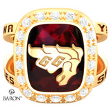 University of Ottawa Renown Class Ring (Gold Durilium, 10kt Yellow Gold) - Design 5.2
