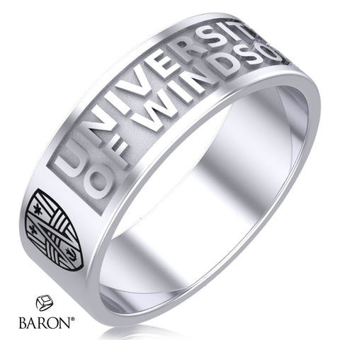 Class Ring - 3111 (Durilium, Sterling Silver, 10KT White Gold