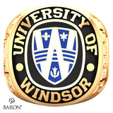 University of Windsor Exclusive Class Ring (Gold Durilium/10kt Yellow Gold)