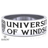 Class Ring (Durilium, Sterling Silver, 10KT White Gold)