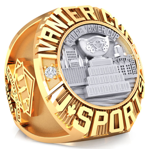U SPORTS Vanier Cup Committee Ring - Design 1.2