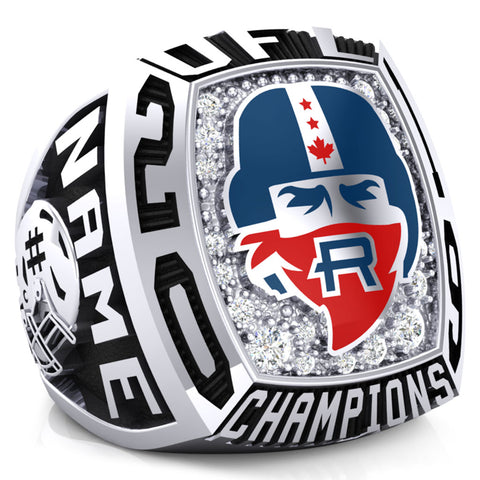 Vaughan Rebels OFL Atom Championship Ring - Design 1.3