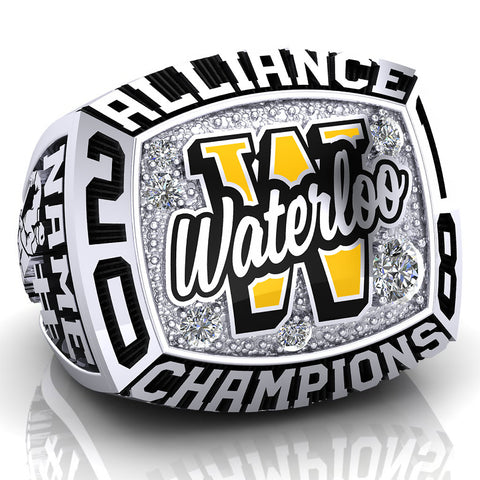 Waterloo Wolves - Bantam Ring - Design 1