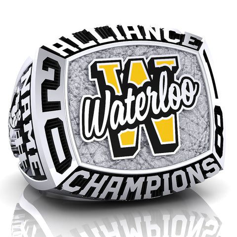 Waterloo Wolves - Bantam Ring - Design 2