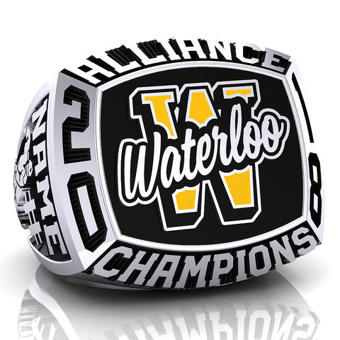 Waterloo Wolves - Bantam Ring - Design 3