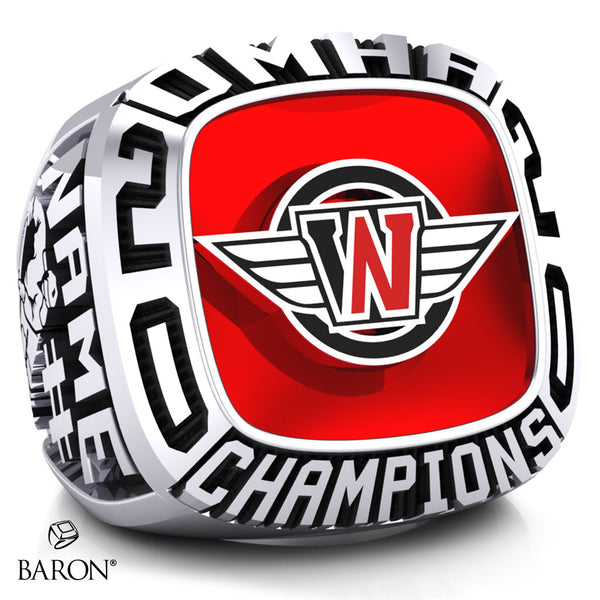 West Niagara Championship Ring - Design 1.1