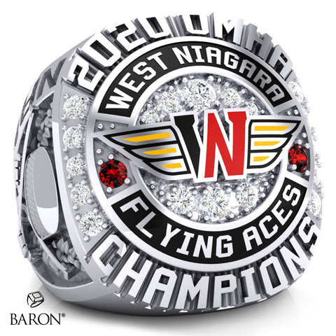 West Niagara Championship Ring - Design 2.2
